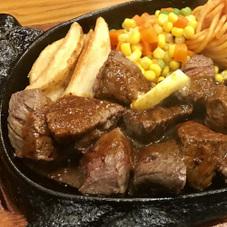 霜降り風 牛ヒレ サイコロステーキ 680円(税抜)