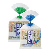 流水麺そば・うどん 167円(税抜)