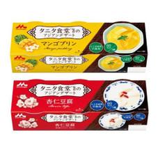 タニタ食堂監修マンゴープリン・杏仁豆腐 147円(税抜)