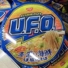 日清焼きそばU.F.O.濃い濃い海鮮うま塩焼きそば 118円(税抜)