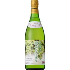 北海道生ぶどうしぼり ナイヤガラ 1,250円(税抜)