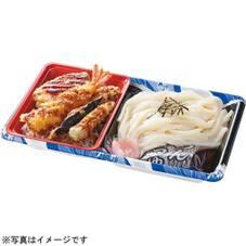 讃岐うどんと天丼セット 390円(税抜)