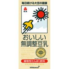 おいしい無調整豆乳 149円(税抜)
