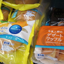 牛乳と卵のデザートワッフル 89円(税抜)
