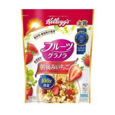 フルーツグラノラ朝摘みいちご 497円(税抜)