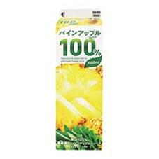 100%パインアップルジュース 108円