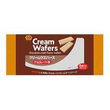 クリームウェハースチョコレート味 108円