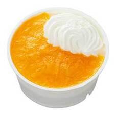 オレンジとマンゴーのレアチーズ 108円