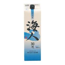 琉球泡盛 海人紙パック(30度) 1,000円(税抜)