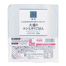 大盛りコシヒカリごはん 129円