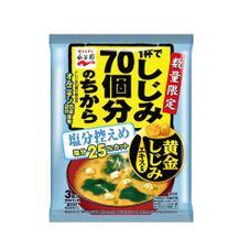 1杯でしじみ70個分のちからみそ汁 塩分控えめ 98円(税抜)