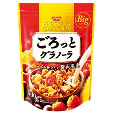 日清シスコ ごろっとグラノーラ メープル仕立ての充実果実 498円(税抜)