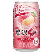 アサヒ 贅沢搾り 桃 100円(税抜)