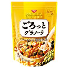 日清シスコ ごろっとグラノーラ きなこ仕立ての充実大豆 498円(税抜)