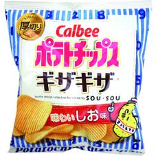 ポテトチップスギザギザ  各種 68円(税抜)