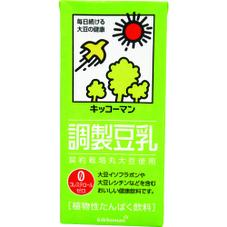 おいしい無調整豆乳・豆乳飲料・調製豆乳  各種 158円(税抜)