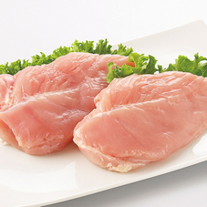国産若どりむね肉 57円(税抜)