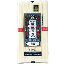 揖保乃糸 手延素麺 松 398円(税抜)