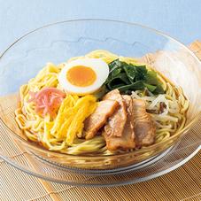 炙りチャーシュ―の冷し中華 398円(税抜)