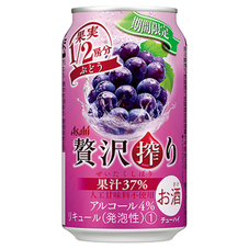 アサヒ 贅沢搾り ぶどう(季節限定発売) 100円(税抜)