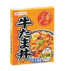 金のどんぶり 牛たま丼 78円(税抜)