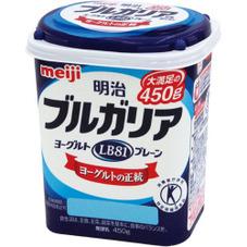 ブルガリアヨーグルトレギュラー・糖質ゼロ 118円(税抜)