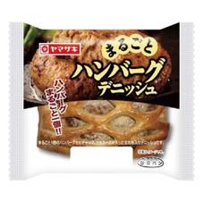 まるごとハンバーグデニッシュ 108円