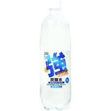 強炭酸水(1000ml) 98円(税抜)