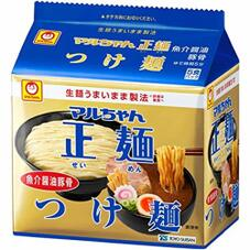 マルちゃん正麵つけ麺5食パック 198円