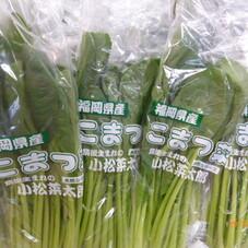 小松菜 98円(税抜)