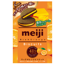 明治 リッチビスケット オレンジ 100円(税抜)