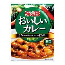 SBなっとくのおいしいカレー 甘口 5ポイントプレゼント