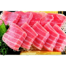 本まぐろ切落し養殖(解凍)刺身用 980円(税抜)