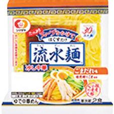 流水麺 冷し中華(スープ付) 258円(税抜)