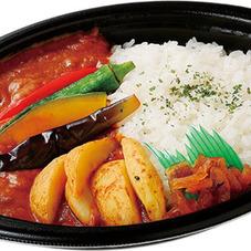 夏野菜カレー 398円(税抜)