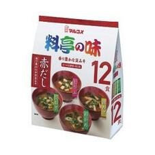 お徳用料亭の味みそ汁赤だし 12食 138円(税抜)