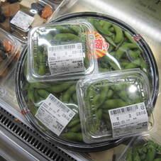 茹でた 枝豆 77円(税抜)