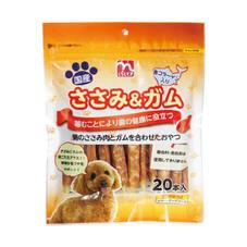 ささみ&ガム コラーゲン入り 580円(税抜)