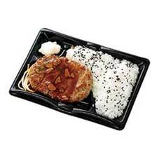 わらじハンバーグ弁当(ガーリックソース) 324円