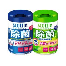 スコッティウェットティシュー除菌 278円(税抜)