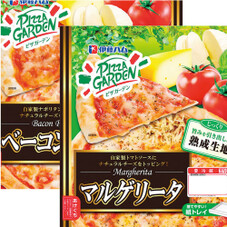 ピザガーデン(マルゲリータ・ベーコンピザ) 208円(税抜)