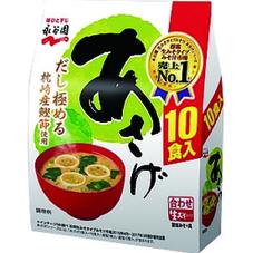 あさげ・ゆうげ  生タイプみそ汁  各種 178円(税抜)