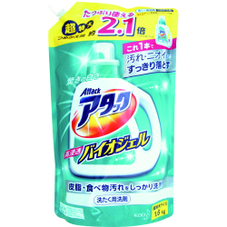 アタック高浸透バイオジェル  大型詰替 348円(税抜)