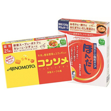 ほんだし(120g)・コンソメ(21個入) 188円(税抜)