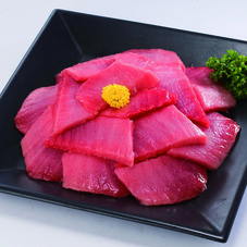 まぐろ刺身切落し(解凍・生食用) 498円(税抜)