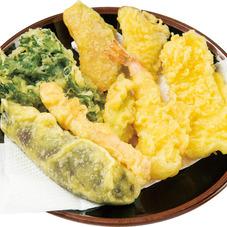 季節の天ぷら盛合せ(小) 348円(税抜)