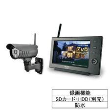 ワイヤレス防犯カメラセット 43,800円(税抜)