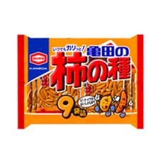 亀田の柿の種 257円(税抜)