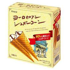 ヨーロピアンシュガーコーン5個入 165円(税抜)