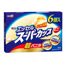エッセルスーパーカップミニ超バニラ6個 199円(税抜)